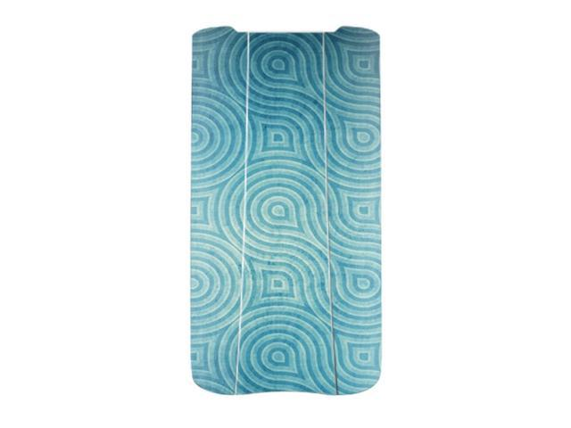 Skin Decal Wrap for Parrot BEBOP 2 Battery cover sticker Blue Swirls