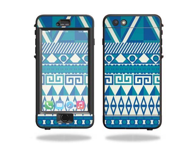 Skin Decal Wrap for Lifeproof Nuud iPhone 6s Plus Case skins Blue Aztec