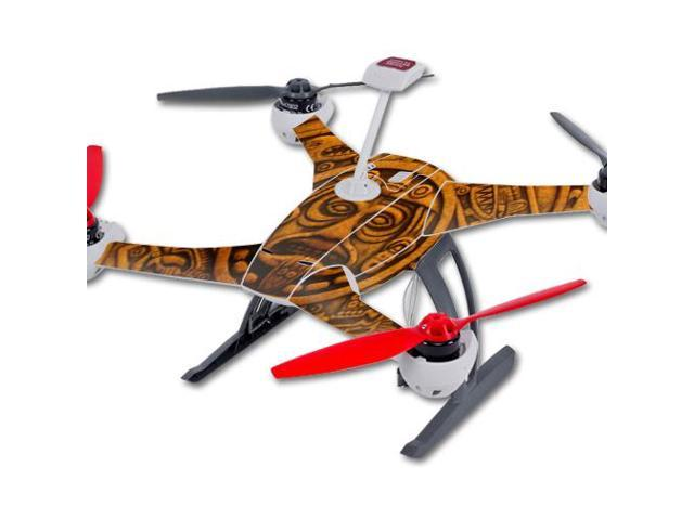 Skin Decal Wrap for Blade 350 QX3 Quadcopter Drone sticker Carved Aztec