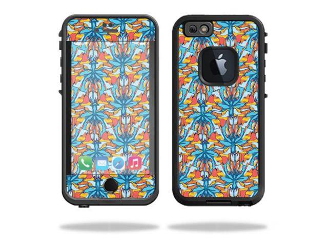 Skin Decal Wrap for LifeProof fre iPhone 6/6S Case Sunset Flowers