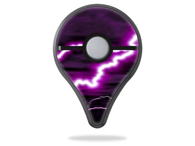 Skin Decal Wrap for Pokemon Go Plus cover sticker skins Purple Lightning