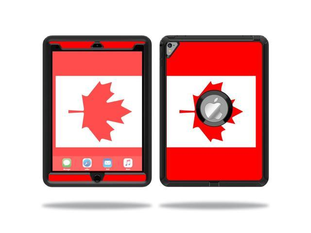 Skin Decal Wrap for OtterBox Defender Apple iPad Pro 9.7 sticker Canadian Flag