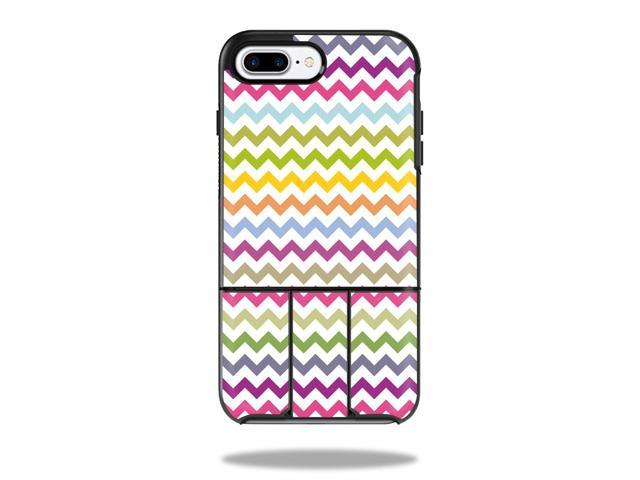 Skin Decal Wrap for OtterBox Universe iPhone 7 Plus / 7S Pl Case Rainbow Chevron