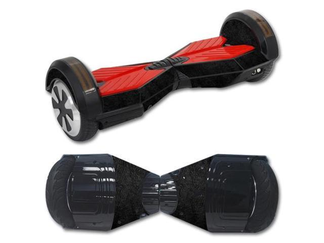 Skin Decal Wrap for Balance Board Scooter Hover bluetooth Black Leather