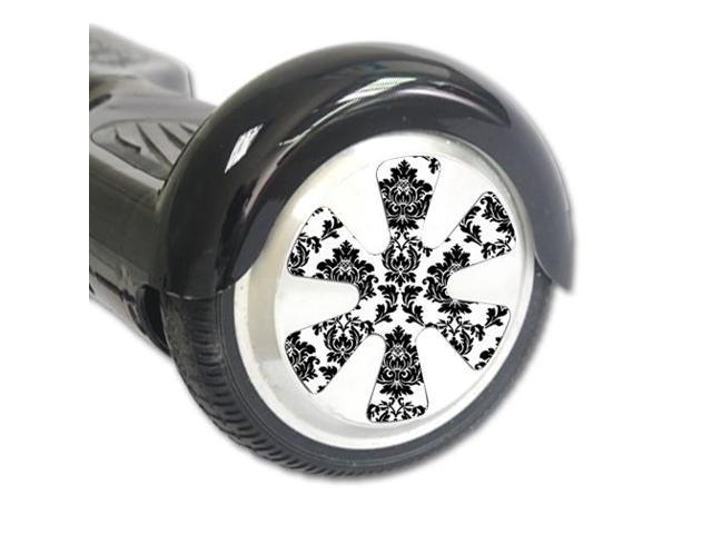 Skin Decal Wrap for Board Balance Scooter Wheels Vintage Damask