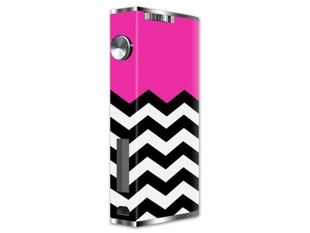 Skin Decal Wrap for Aspire Pegasus mod skins sticker vape Hot Pink Chevron