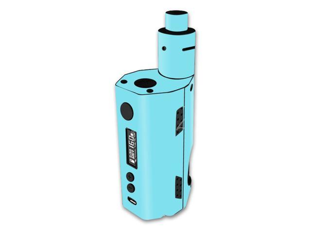 Skin Decal Wrap for Kangertech Dripbox 160 stickers Solid Baby Blue