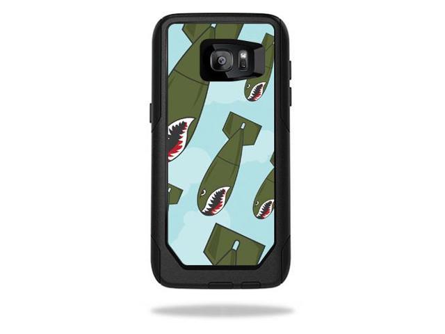 Skin Decal Wrap for OtterBox Commuter Samsung Galaxy S7 Edge Bombs Away