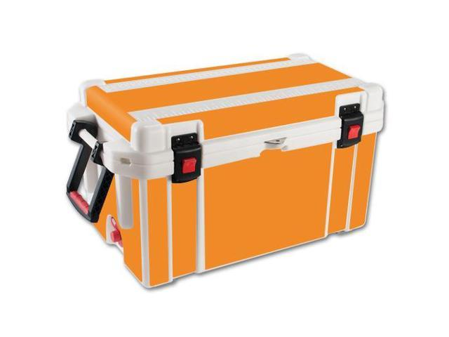 Skin Decal Wrap for Pelican 65 qt Cooler sticker cover Solid Orange