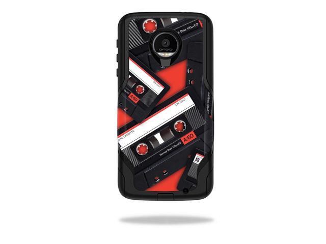 Skin Decal Wrap for OtterBox Commuter Moto Z Force Droid Mixtape