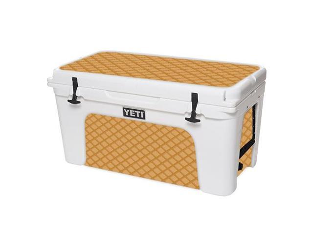 Skin Decal Wrap for YETI Tundra 75 qt Cooler sticker cover Waffle Sole