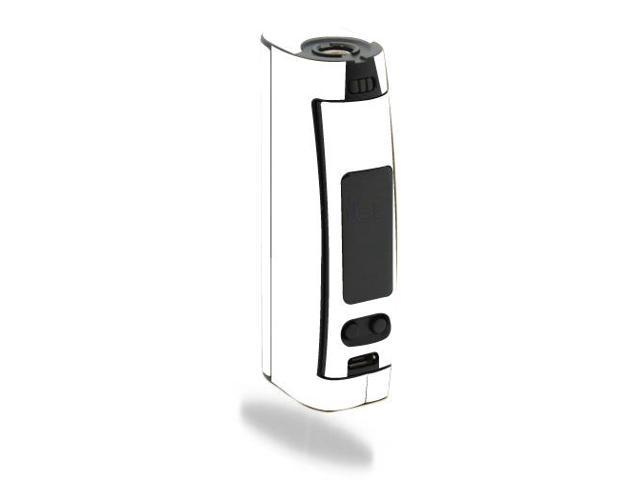 Skin Decal Wrap for Wismec Presa TC 75W mod sticker vape Solid White