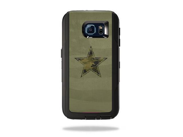 Skin Decal Wrap for OtterBox Defender Galaxy S6 Army Star