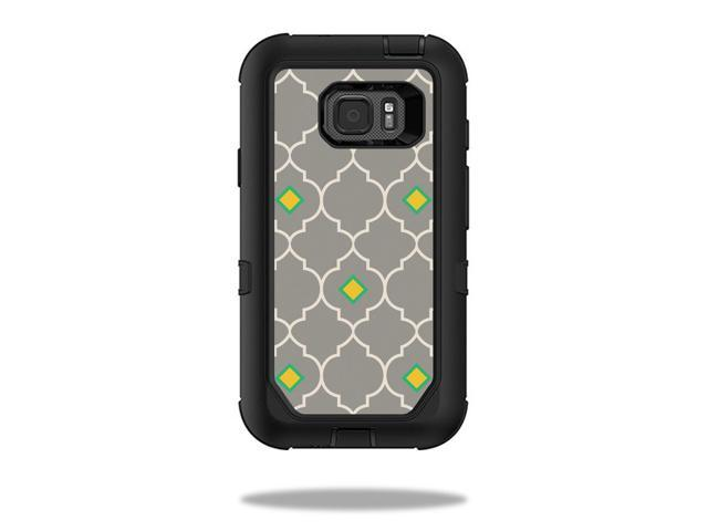 Skin Decal Wrap for OtterBox Defender Samsung Galaxy S7 Active Case Quatrefoil