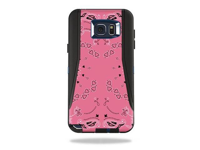 Skin Decal Wrap for OtterBox Defender Galaxy Note 5 Case Pink Bandana