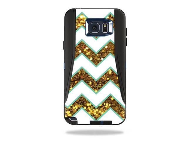 Skin Decal Wrap for OtterBox Defender Galaxy Note 5 Case Glitter Chevron