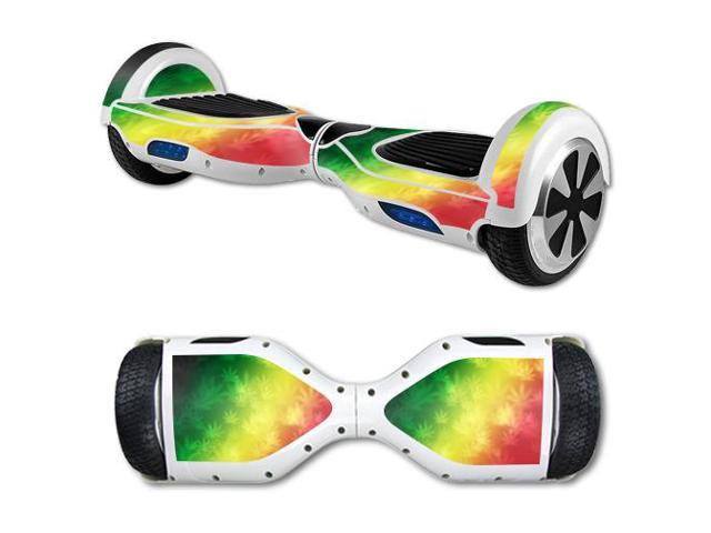 Skin Decal Wrap for Hover Board Balance Balancing Scooter Rasta Rainbow