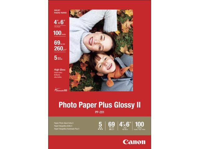 Canon Pp-201 Photo Paper - 4 X 6 - Glossy