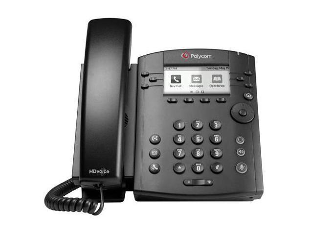 Polycom VVX 300 6-line Entry-Level Business Media Phone