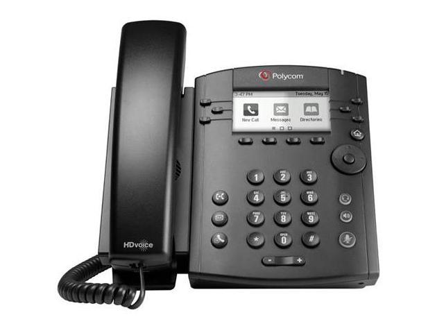 Polycom VVX 310 6-line Entry-Level Business Media Phone with Gigabit Ethernet