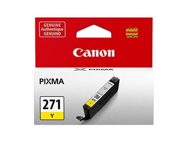 Canon 0393C001 Canon CLI-271Y Ink Cartridge - Yellow - Inkjet