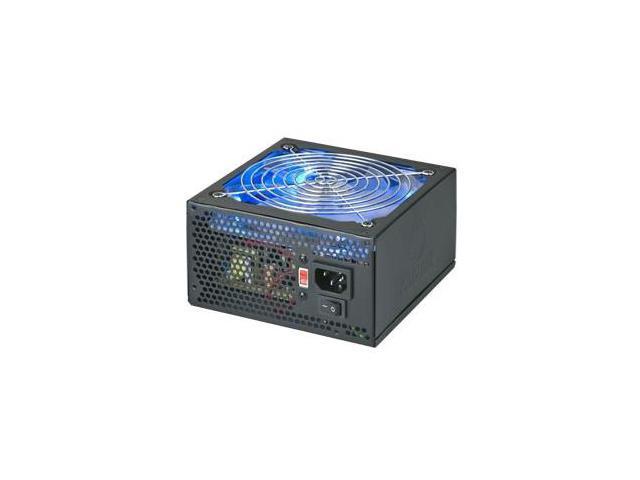 Coolmax 14749 Coolmax VL-600B Blue LED Fan ATX PSU - 110 V AC, 220 V AC Input Voltage - 1 Fans - Internal - 600 W