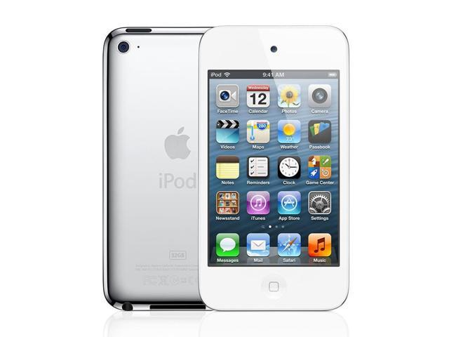Apple - iPod Touch 8GB - 4th Gen (White) MD057LL/A