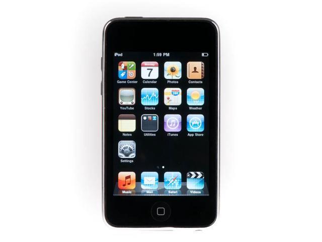 Apple - iPod touch 8GB - 2nd (Black) MC086LL/A