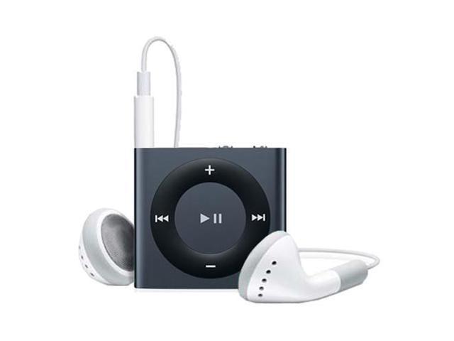 Apple - iPod shuffle 2GB - 4th Gen (Black/Slate) MD779LL/A