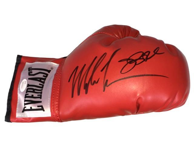 Mike Tyson James Buster Douglas Dual Signed Everlast Right Hand Boxing Glove JSA