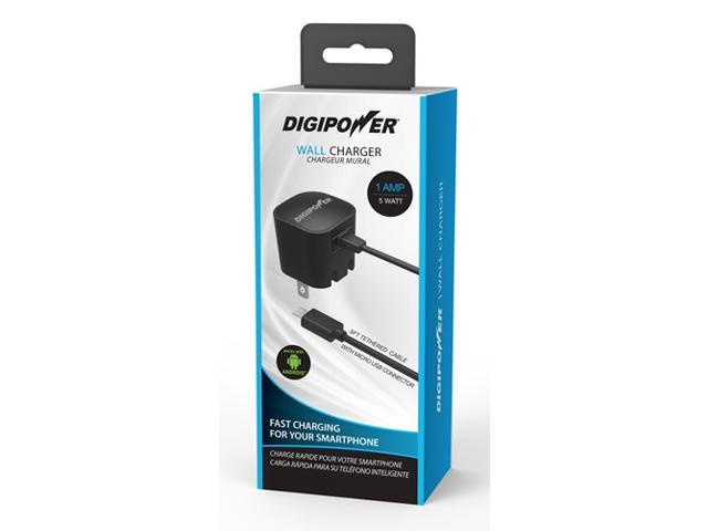 DigiPower IP-AC1M-T Black Cell Phone - Chargers & Cables