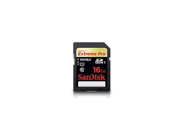 SanDisk Extreme Pro 16GB Secure Digital High-Capacity (SDHC) Flash Memory Model SDSDXPA-016G-C46