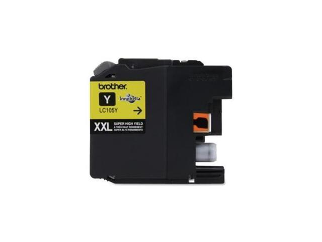 Brother Innobella Lc105ys Ink Cartridge - Yellow - Inkjet - 1200 Page - 1 Pack
