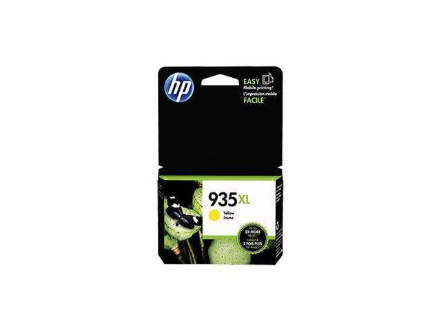 HP 935XL Yellow Ink Cartridge (C2P26AN#140), High Yield