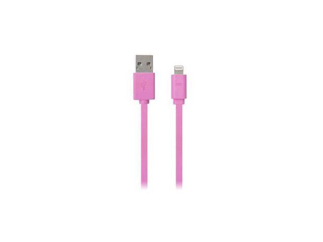 DigiPower IPLH5-FDC-PK Pink 3 USB Charge Cble iPhone5