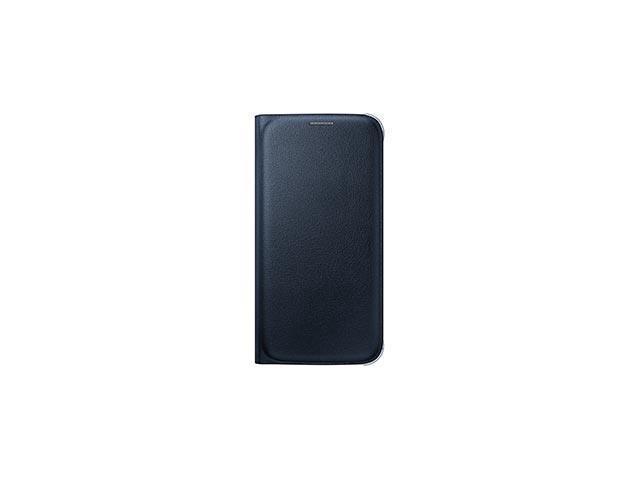 Samsung OEM Galaxy S6 Wallet Flip Cover Blue-Black
