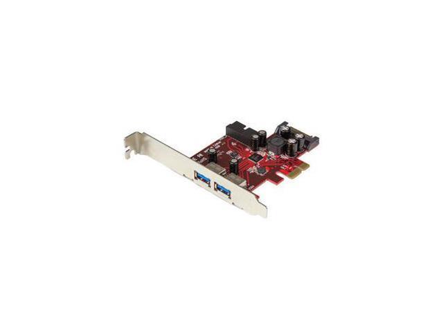 StarTech 4-port PCI Express USB 3.0 card - 2 external, 2 internal - SATA power Model PEXUSB3S2EI