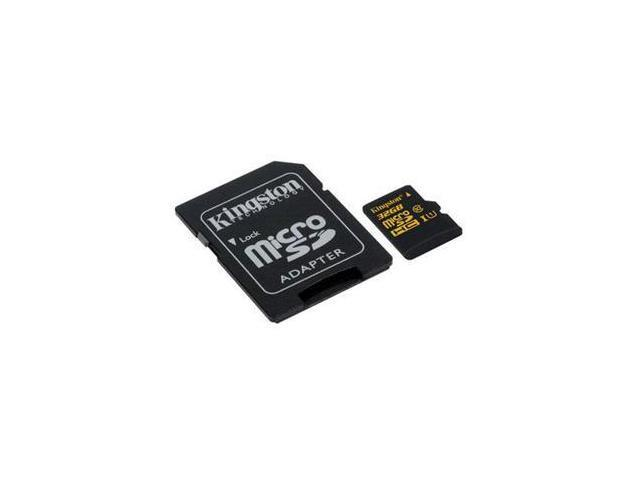 Kingston Technology Corp. 32GB microSDHC Memory (Flash Memory)