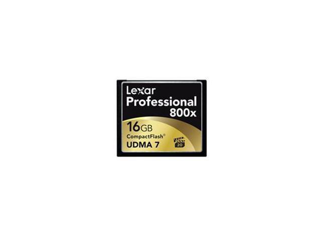 Lexar Professional 16GB Compact Flash (CF) Flash Card