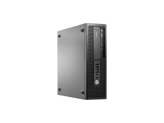 HP EliteDesk 705 G2 Desktop Computer - AMD A-Series A8-8650B 3.20 GHz - Small Form Factor - Black - FRENCH