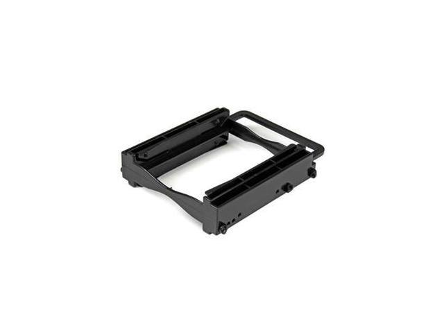 """StarTech BRACKET225PT Dual 2.5"""" SSD/HDD Mounting Bracket for 3.5"""" Drive Bay - Tool-Less Installation"""