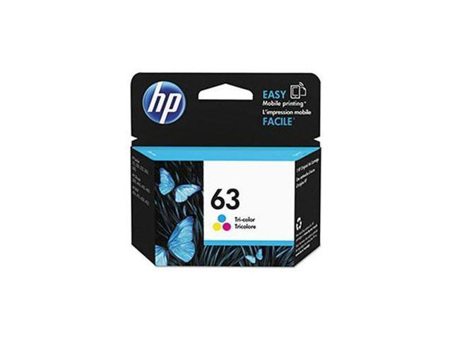 HP 63 Ink Cartridge - Cyan/Magenta/Yellow