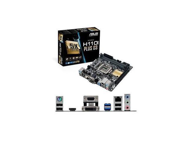 Asus H110I-PLUS D3/CSM Desktop Motherboard - Intel H110 Chipset