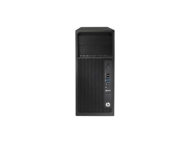 HP Z240 Mini-tower Workstation - 1 x Processors Supported - 1 x Intel Xeon E3-1230 v5