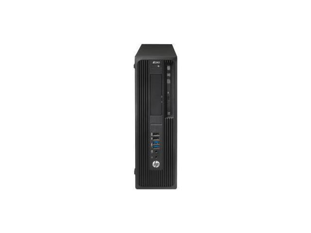 HP Z240 Small Form Factor Workstation - 1 x Processors Supported - 1 x Intel Core i7 i7-6700 Quad-core (4 Core) 3.40 GH