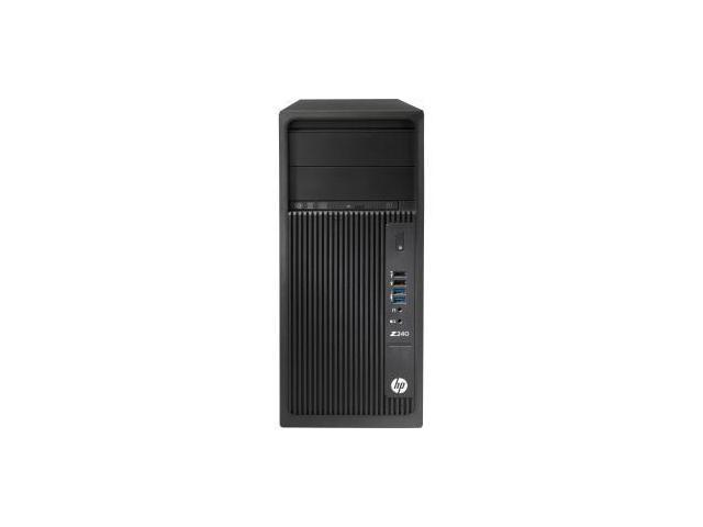 HP Z240 Mini-tower Workstation - 1 x Processors Supported - 1 x Intel Xeon E3-1240 v5 Quad-core - FRENCH