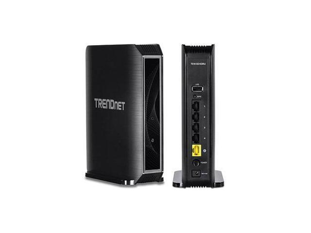 TRENDnet AC1750 Dual Band Wireless Router with StreamBoost Technology