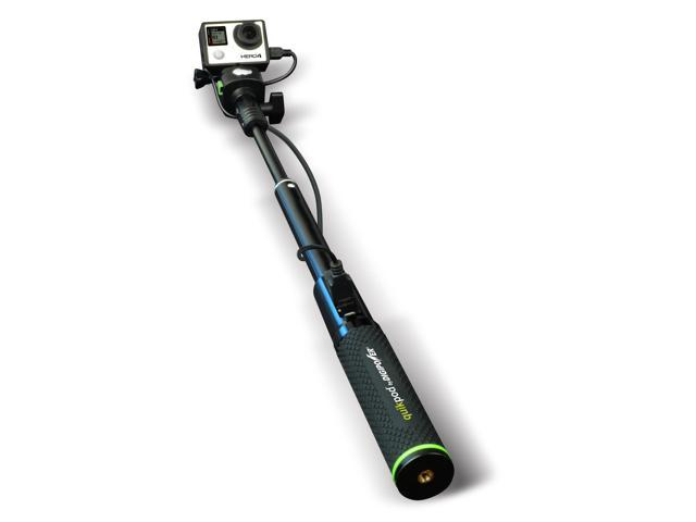 DigiPower ReFuel GoPro QuikPod PwrStick 32in w/Builtin 5200mah PwrBnk