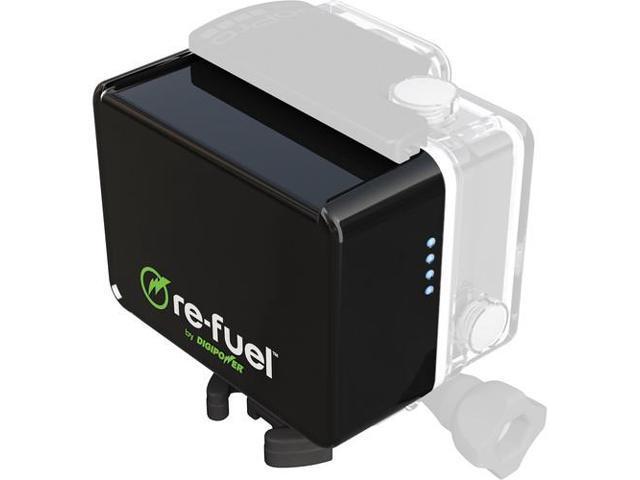 ReFuel GoPro Hero 4/3+/3 6Hr Rechrge Pwr Bnk w/Micro USBPrt