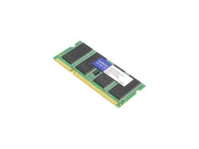 AddOn A0655400-AAK 2 GB (1 x 2 GB) - DDR2 SDRAM - 667 MHz - 1.80 V - Non-ECC - Unbuffered - 200-pin - SoDIMM